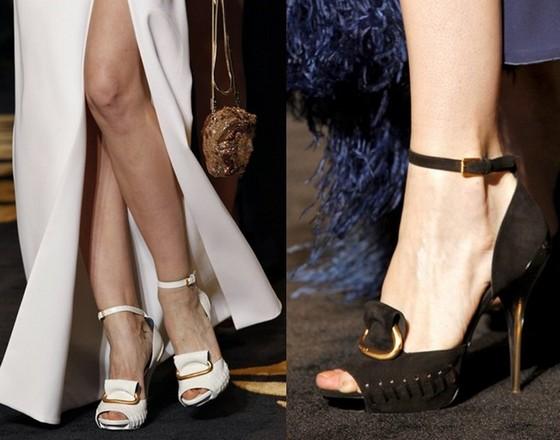 Аксессуары к платьям - туфли Версаче