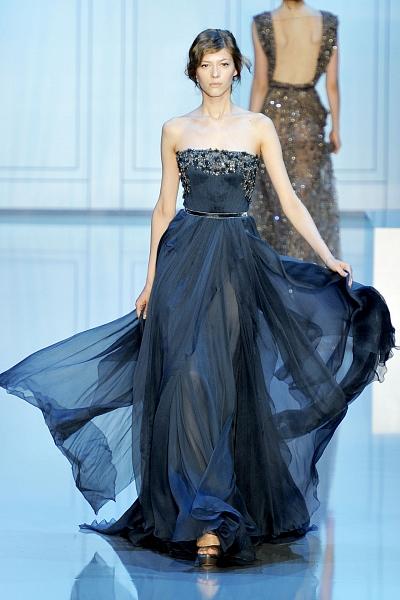Синие платья Эли Сааб