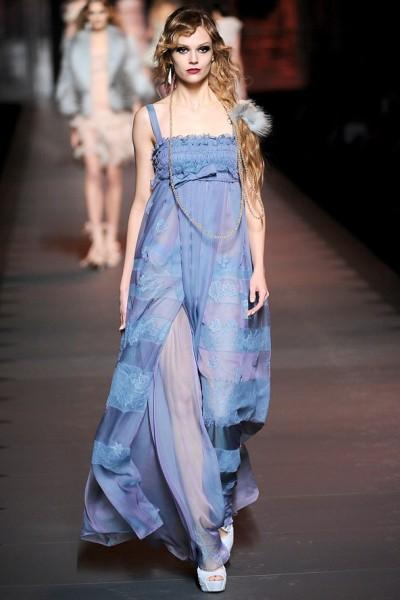 Christian Dior - коллекция платьев Осень-Зима 2011-2012