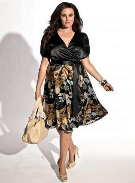 Деловые платья для полных - аксессуары
