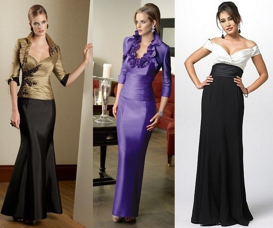 Платья для мамы невесты