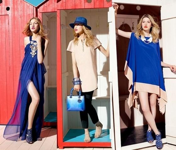 Морские платья 2012 Christian Dior