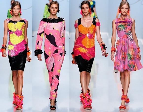 Розовые платья Blumarine 2012
