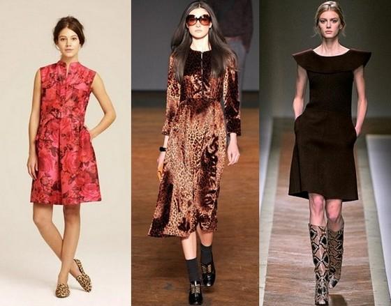 Платья в винтажном стиле J.Crew, Marc by Marc Jacobs, Valentino