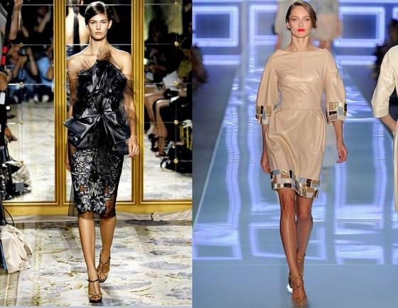 Короткие вечерние платья 2012, Марчеса и Кристиан Диор