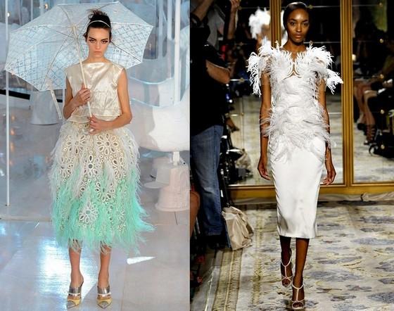 Платья короткие вечерние фото, Louis Vuitton и Marchesa