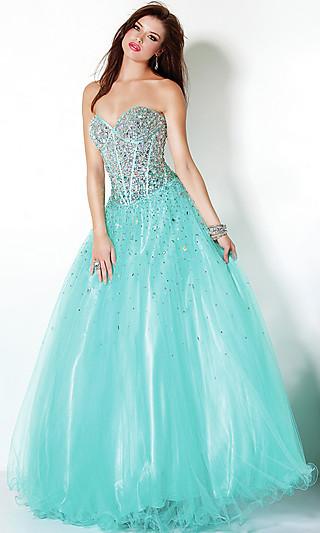 Платья на выпускной 2012 пышные