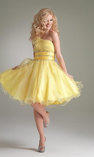 Выпускное платье 2012 короткое