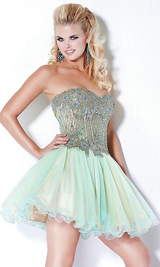 Платье с корсетом на выпускной 2012