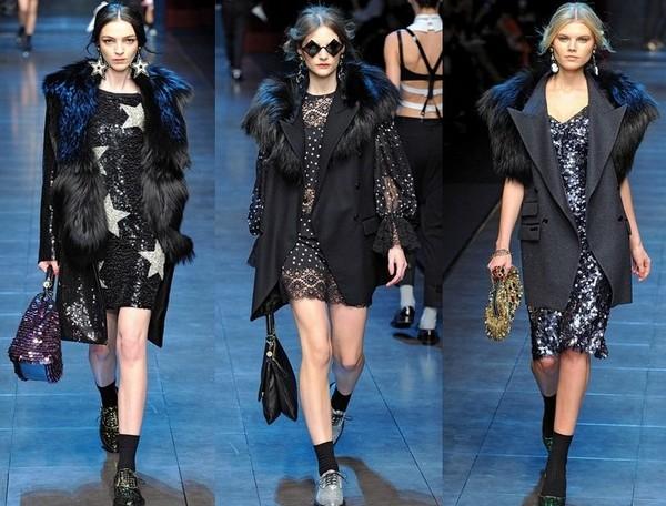 Верхняя одежда к платьям Dolce&Gabbana