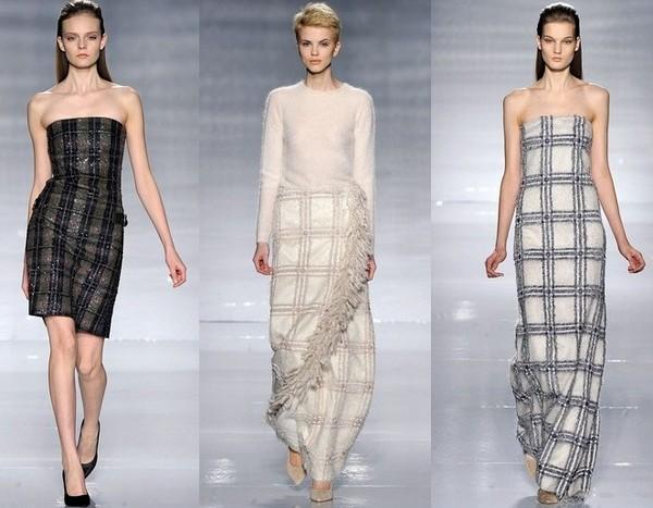 Клетчатые платья Макс Мара 2011-2012