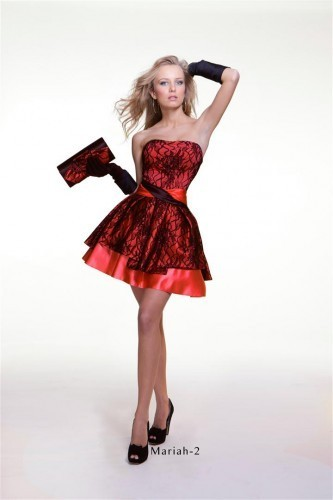 Красное платье Оксаны Мухи