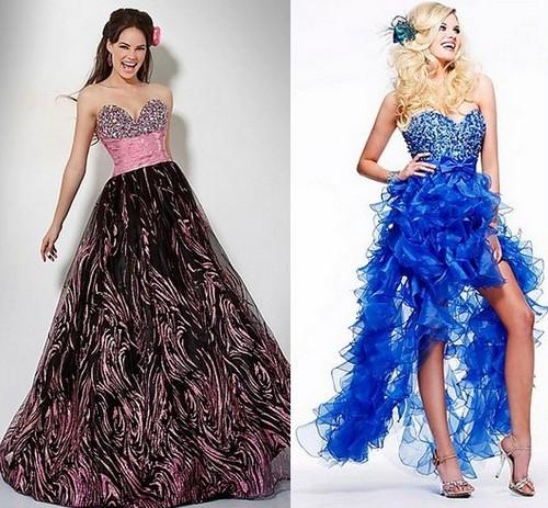 Новогодние платья 2012 для женщины-Рака