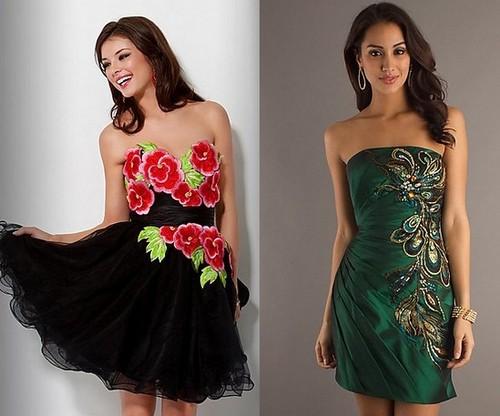 Платья на Новый год 2012 для Козерога
