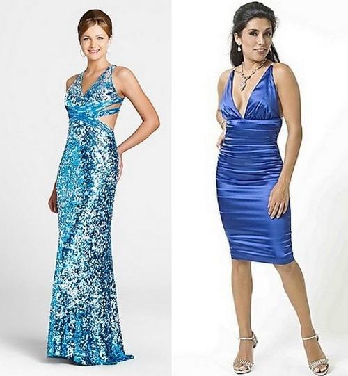 Платья на Новый год 2012 для Водолея