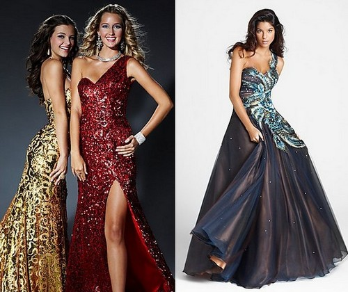 Новогодние платья 2012 для Рыбы