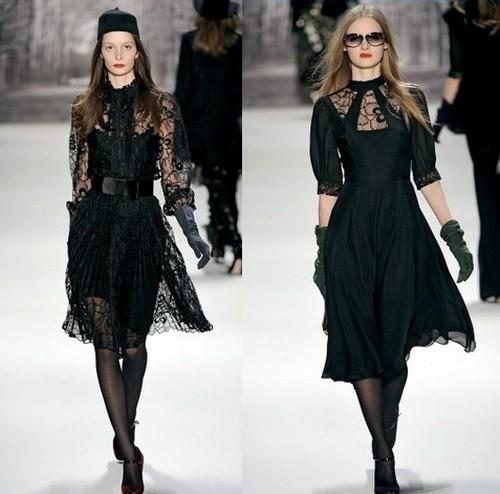 Платья на зиму 2012, Milly