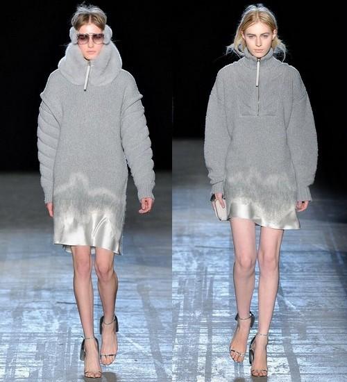 Вязаные платья зима 2012, Alexander Wang