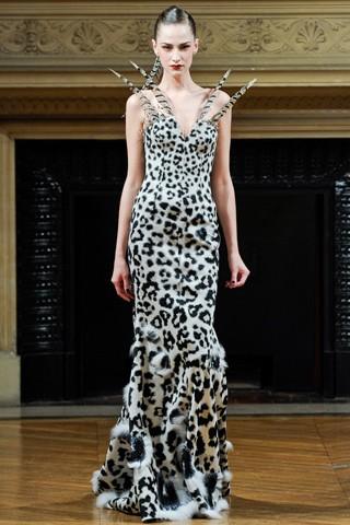 Платья вечерние теплые от Alexis Mabille