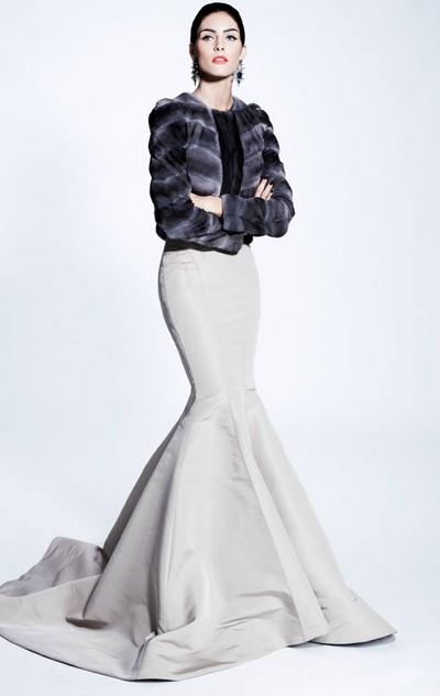Зимнее свадебное платье 2012, Zac Posen