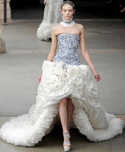 Свадебное платье Осень-Зима 2011-2012, Александр Маккуин