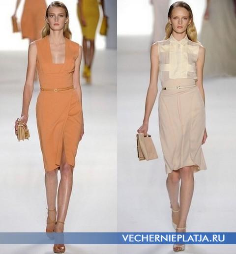 Прямые платья Весна-Лето 2012 от Эли Сааб