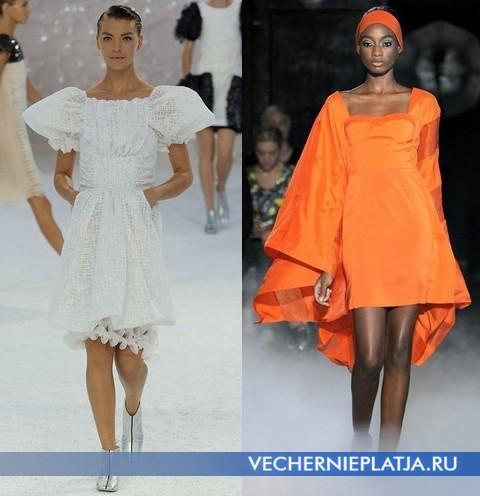 Платья Весна-Лето 2012 фото - Chanel и Jean-Charles de Castelbajac