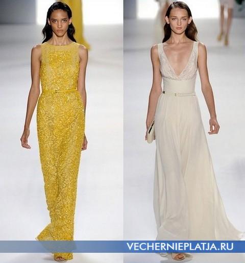 Вечерние платья Весна-Лето 2012 от Эли Сааб (Elie Saab)