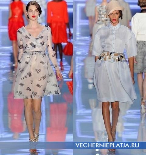 Модные платья от Christian Dior - коллекция Весна-Лето 2012