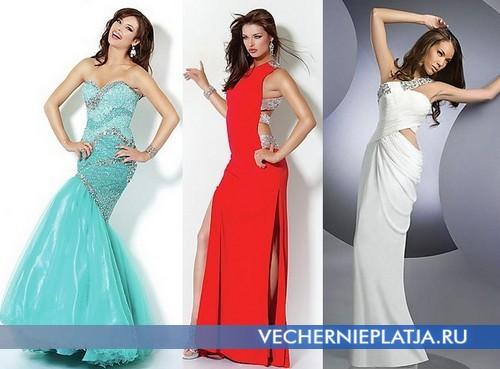 Вечерние платья на 14 февраля - День Влюбленных