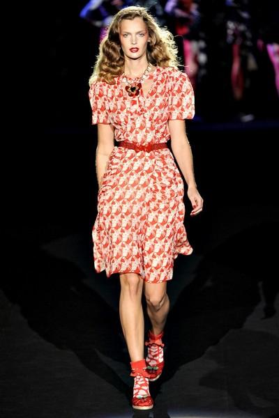 Платье в ретростиле от Анны Шуи - коллекция весна-лето 2012
