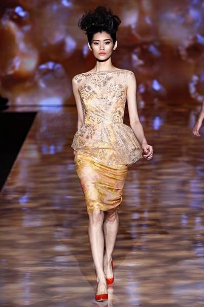 платье в стиле ретро - коллекция весна-лето 2012 от Badgley Mischka