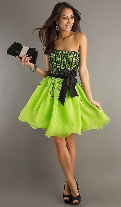 Выпускные платья в стиле ретро 2012