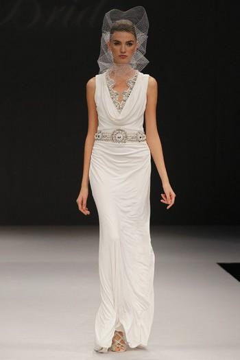 Свадебное платье 2012 от Badgley Mischka
