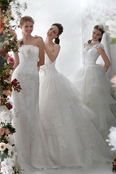 Белые свадебные платья Papilio 2012