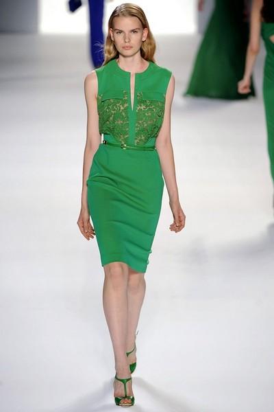 Деловые платья от Эли Сааб, весна лето 2012