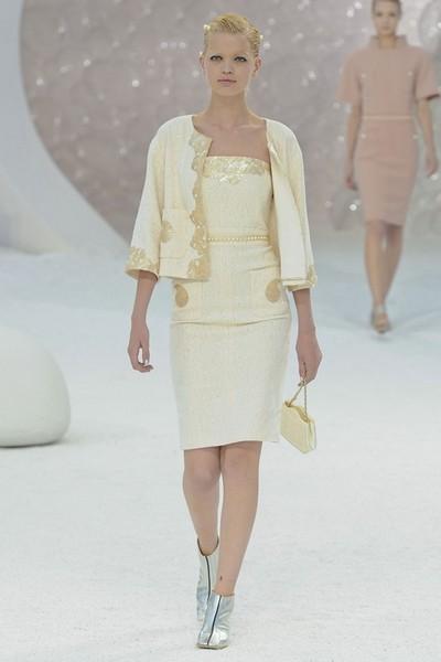 Деловые платья от Chanel, весна лето 2012