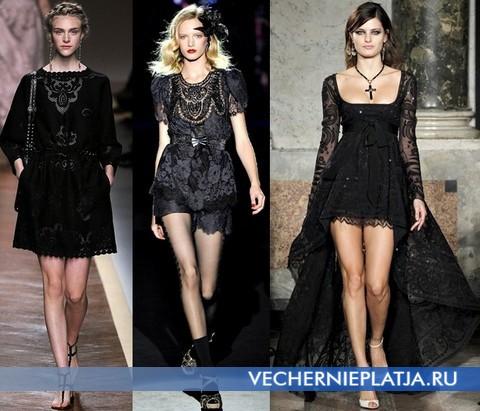 Кужевные платья 2012 от Valentino. Anna Sui, Emilio Pucci