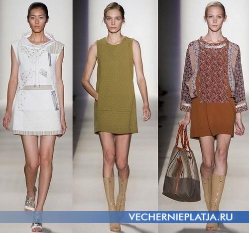Платья туники Весна-Лето 2012 от Vanessa Bruno