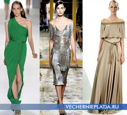 Вечерние коктейльные платья от Elie Saab, Marchesa и Farah Angsana