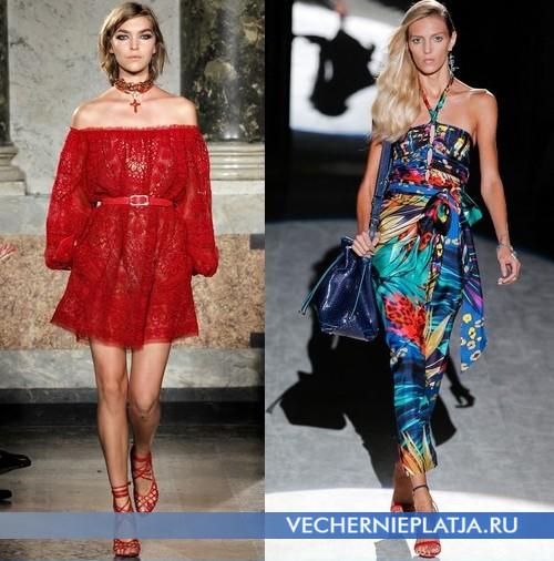 Аксессуары к открытым платьям, Emilio Pucci, Salvatore Ferragamo