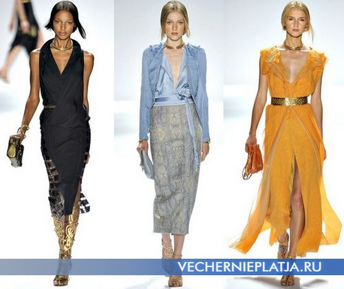 Какие цвета платьев модны в 2012 году – коллекция Elie Tahari