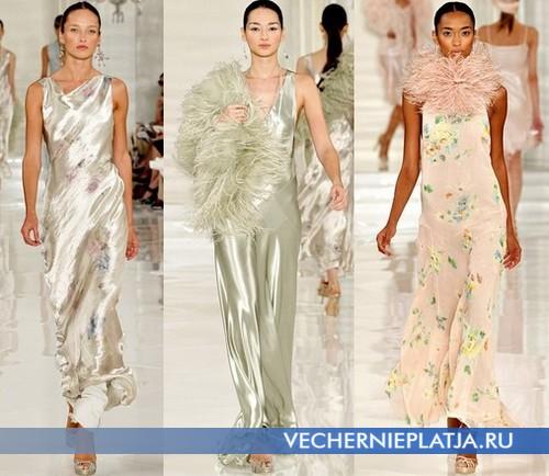 Модные вечерние платья 2012 от Ralph Lauren