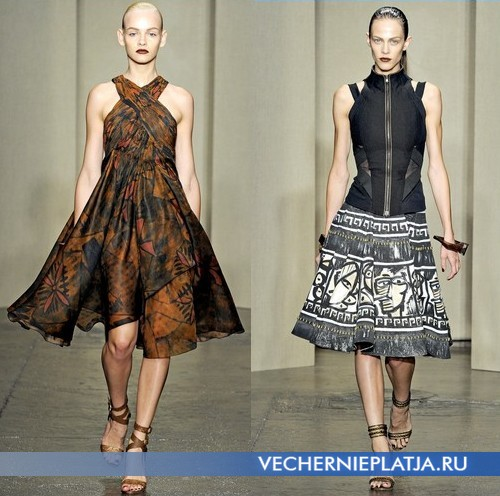 Сафари платья 2012 от Donna Caran