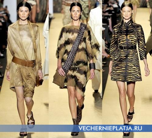 Сафари платья 2012 от Michael Kors