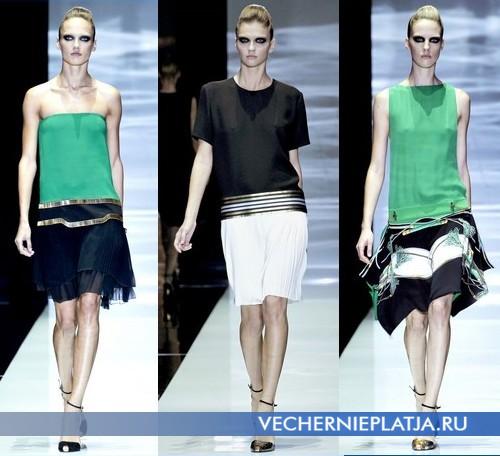 Платья с низкой талией от Gucci