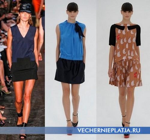 Спортивные платья с низкой талией от Victoria Beckham