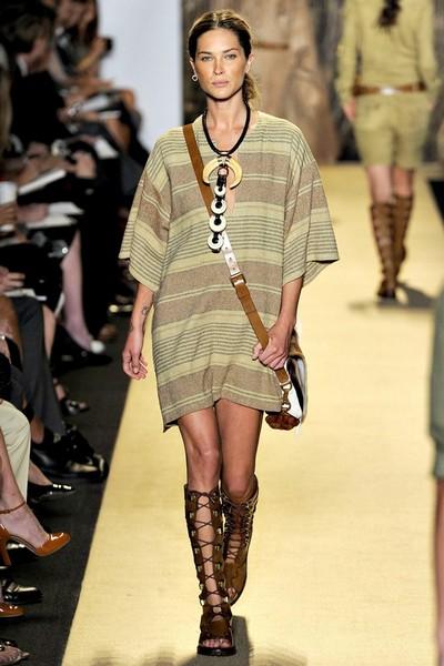 Платье-туника 2012 в полоску от Michael Kors
