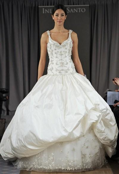 Свадебные платья с бретельками от Ines Di Santo