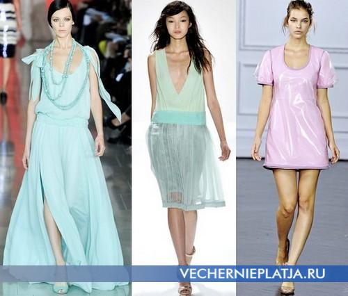 Фасоны летних платьев 2012 от Tory Burch, Jill Stuart, Richard Nicoll